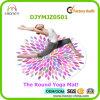 Customized Full Color Digital Printed Round Yoga Mat