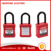 38mm Nylon Shackle Safety Lockout Padlock with Keyed Alike