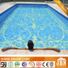 Blue Mixed Color Swimming Pool Glass Mosaic Tile (H420010)