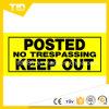 Keep out Sign Reflective Label for Traffic Safety