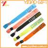 Custom Logo Woven Fabric Bracelet /Wristband (YB-SM-16)