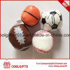 2.5 Inch 6.3cm PVC Leather Stuffed Juggling Ball, PU Soft Cotton Ball