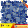 Round Glass Ceramic Marble Mosaic Building Material Mosaic (19005)