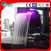 Fenlin Swimming Pool SPA Stainless Steel Colorful LED Waterfall
