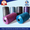 Not Easily Faded Polyester Space Dyed Yarn for Fabric