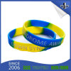 Manufacture Product Debossed Silicon Wristband with Custom Design