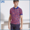 New Design Fashion Pollka Dots Printed Men Polo Shirt