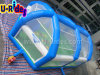 Multifunctional sport inflatable basketball field Dodgeball Court Joust game for event