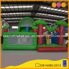 2 in 1 Forest Inflatable Fun City with High Slide (AQ13162)
