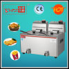 Hef-6L-2 New Design Commercial Fryer with Tap Made in China