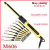 M606 Newest Touch Buttons Design LCD Hair Curler