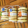 Pet Clear Dorayaki & Cake Plastic Box with Handle