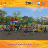 Factory Supply Outdoor Kids Playground Equipment, Outdoor Plastic Slide