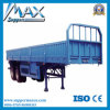 2017 High Quality 35-80tons 3 Axles Flatbed Cargo Trailer for Sale