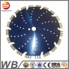 Sliver Welded Turbo Segmented Diamond Saw Blade for Cutting Ceramic