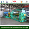 Two Roll Open Rubber Mixer with Stock Blender