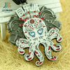 High Qaulity Factory Custom Octopus Sports Metal Medal with Customize Logo