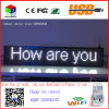 P10 White Indoor LED Sign Wireless and USB Programmable Rolling LED Display Screen 40X8 Inch LED Billboard