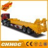 2axle Straight Structure Low Bed Semi-Trailer