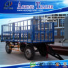 2 Axles Drawbar Trailer, Fencing Trailer, Full Trailer with Sides