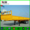 3 Axles Side Wall Flatbed Semi Trailer Truck Trailer