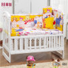 Blue Cotton Baby Bedsheet Sets