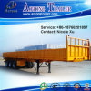 Heavy Duty Step Wise Side Wall Open 3 Axles Flatbed Semi Trailer (LAT9400E)