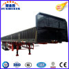 China Direct Factory Price 3axles/12tyres Side Wall/Side Board/Fence Utility Truck Tractor Trailer Sold to Vietnam