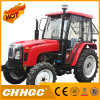 A/C Cabin 45HP 4WD Chhgc Tractor with Front Loader and Backhoe
