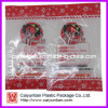 Colorful Plastic Packaging Food Bags, Three Side Sealed Packing Bag