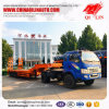 3 Axles Low Bed Semi Trailer with Mechanical Suspension