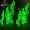 Acrylic LED Sea Grass for Theme Park Decoration