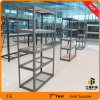 Slotted Light Duty Rack with Mesh Deck