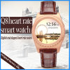 Round Smart Watch Support Android and Ios Heart Rate Monitor Stainless Steel Watch