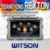Car Dve Player for Ssangyong Rexton Built in 4G Flash (W2-C269)