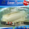4 Axles W Shape Bulk Cement Tanker Semi Trailer