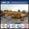 Cimc Huajun 3 Axles Ultra-Wider Lowbed Semi-Trailer