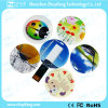 Full Color Logo Mini Round Card USB Flash Drive (ZYF1225)