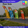 Factory Wholesale Excellent Advertising Beach Flag, Flying Banner, Sail Flag, Feather Flag