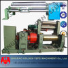 Two Roll Open Mixing Mill with Stock Blender of Bearing Type