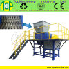 Waste Plastic HDPE Bottle/Barrel/Jar/Basket Twin Shaft Shredder
