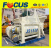 Ce ISO Certified Js1500 Double Horizontal Shaft Concrete Mixer