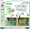 Europe Style Metal Shopping Trolley 125L