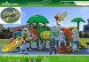 Kaiqi Children Favorite Fair Tale Plastic Play for Back Yard, Park and Kindergarten (KQ60156A)