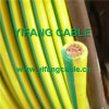 Electric Wire with Green/Yellow Colour, Brown Colour