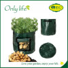 Onlylife Movable Widely Used PE Vegetable Dark Green Grow Bag