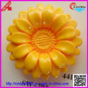 Fashion Design with Flower Shape Plastic Button