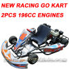 New 2PCS 196CC Engines Racing Go Kart (MC-476)