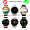Round Screen Wristwatch Bluetooth Smart Watch with Heart Rate K18
