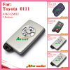 Smart Key for Toyota with 3buttons Ask312MHz 0111 ID71 Wd03 RV4yariscorolla 2005 2010 Silver